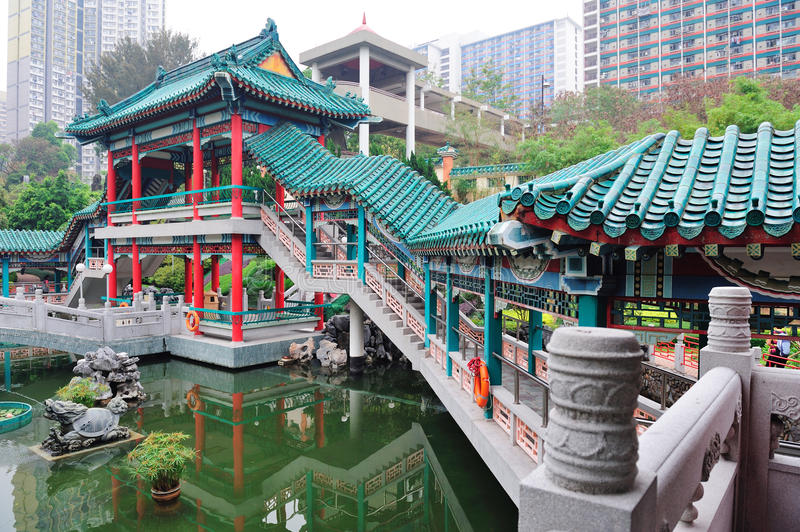 Hong Kong ogród zdjęcie stock