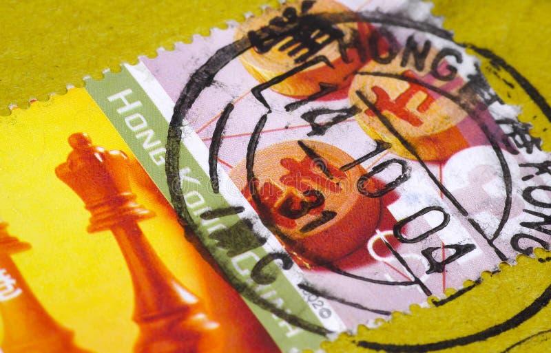 hong kong opłaty pocztowej fotografia royalty free
