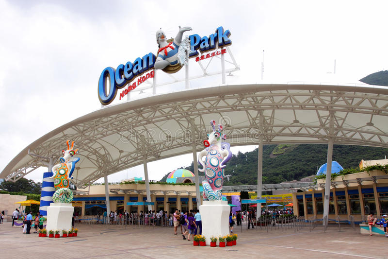 Hong Kong: Ozean-Park stockbilder
