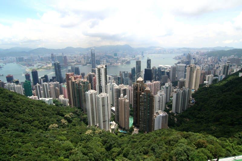 Hong Kong Panaramic Royalty Free Stock Photo