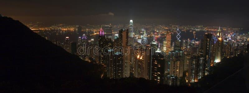 Hong Kong Pano maximal photo stock