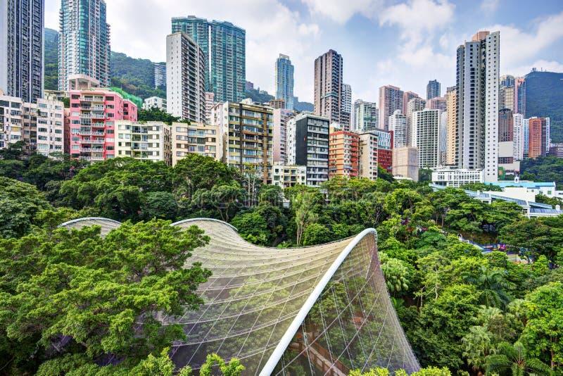Hong Kong Park foto de stock royalty free