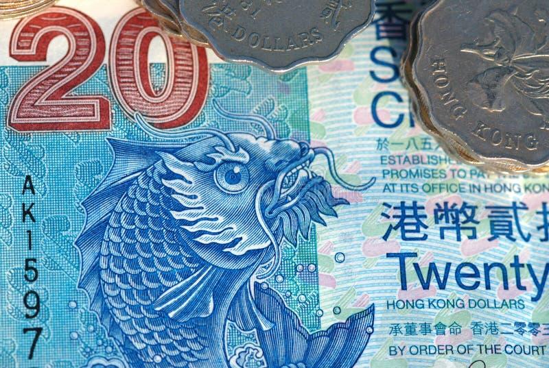 hong kong pieniędzy fotografia royalty free