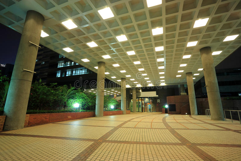 Hong Kong Polytechnic University royalty free stock photo