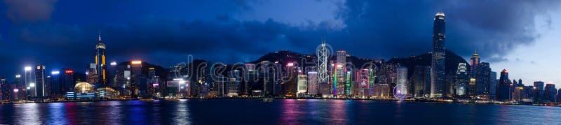 Hong Kong, port de Victoria images stock