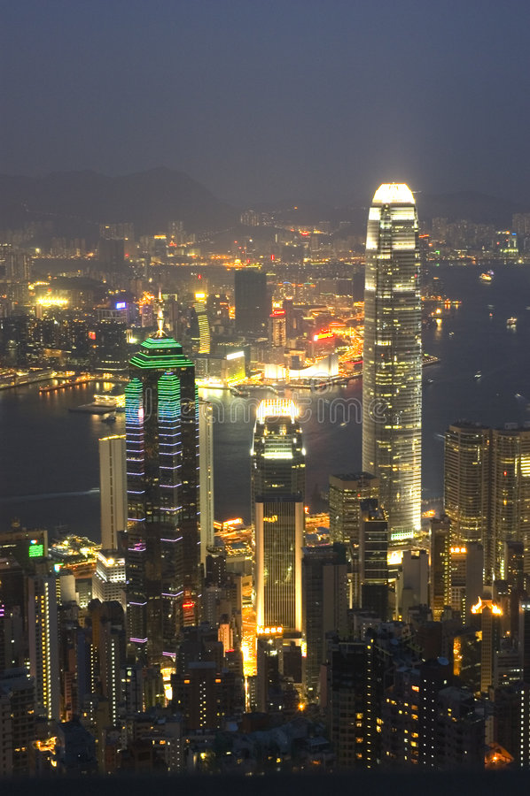 Hong Kong Portrait royalty free stock photos