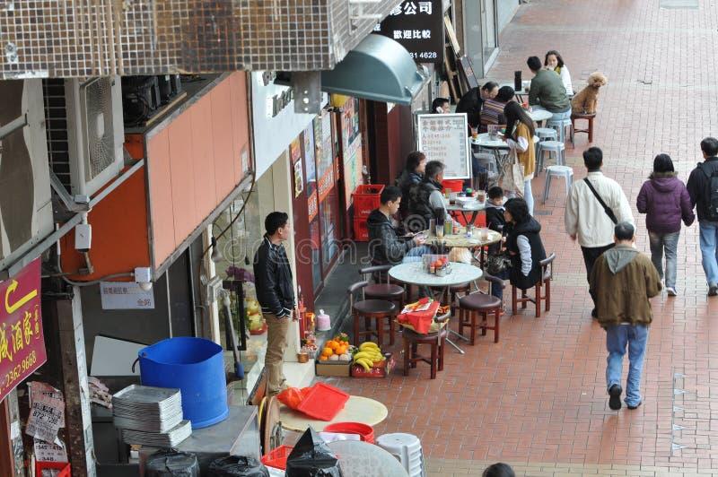 Hong Kong-restaurant royalty-vrije stock afbeelding
