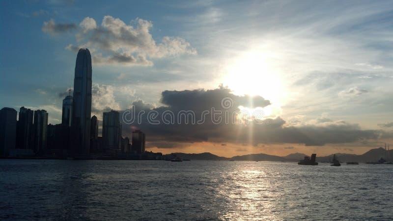 Hong-Kong Seaview foto de archivo