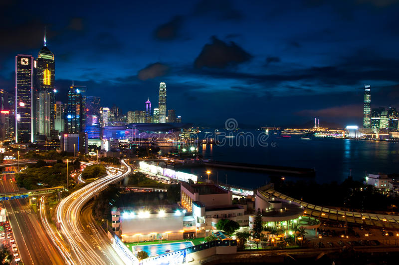 Download Hong Kong Skyline. editorial image. Image of citybreak - 15391330
