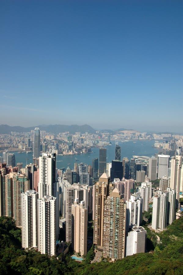 Hong Kong skyline stock photography
