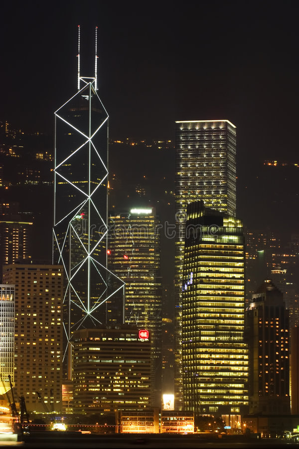 Hong Kong skyline II royalty free stock image