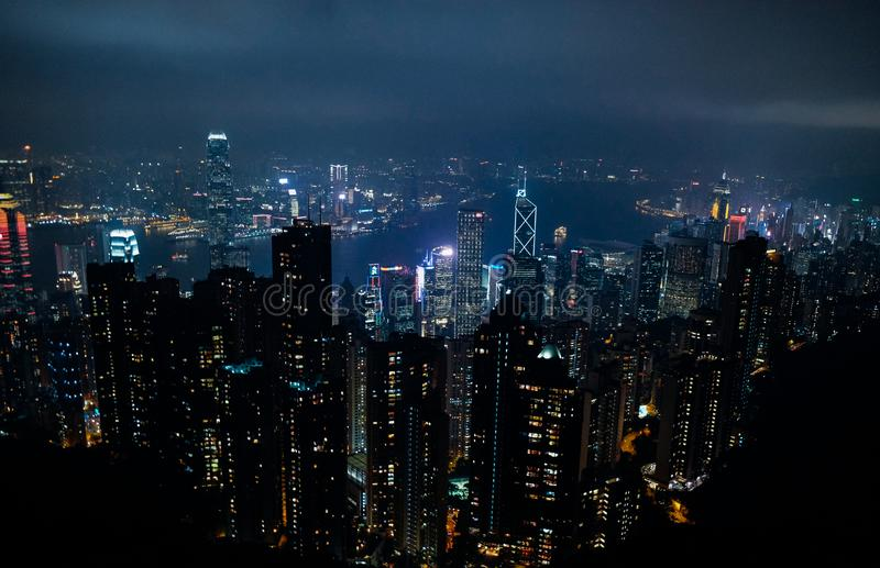 Hong Kong Skyline royalty free stock image