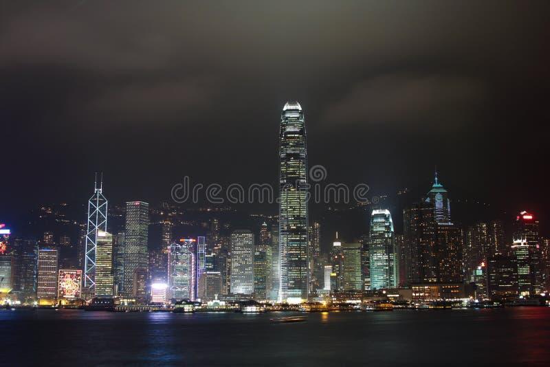 Hong Kong Skylines Royalty Free Stock Photos