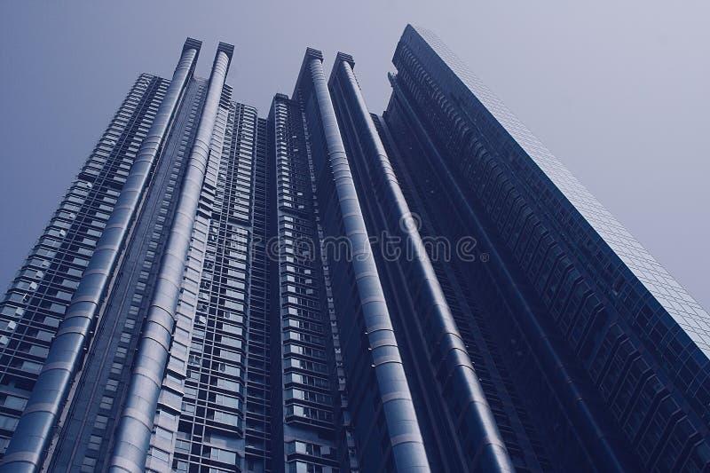 Hong Kong Skyscraper royalty free stock image