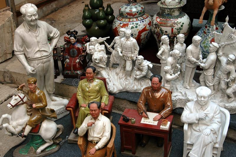 Hong Kong : Souvenirs de Mao Zedong de Président photo stock