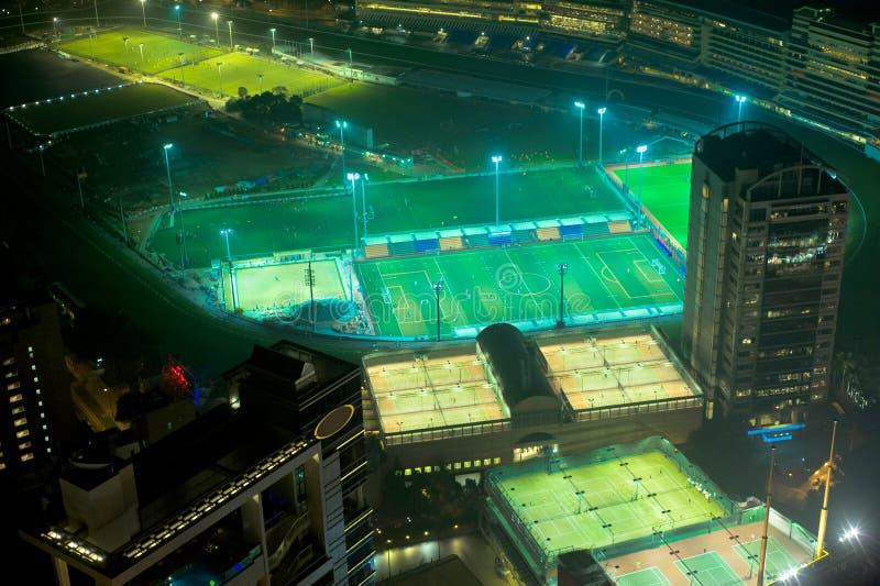 Hong Kong-Sportbezirk lizenzfreie stockfotos