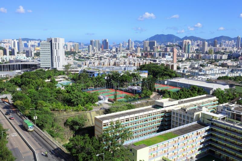 Download Hong Kong stad arkivfoto. Bild av hong, kontor, ytter - 27279706