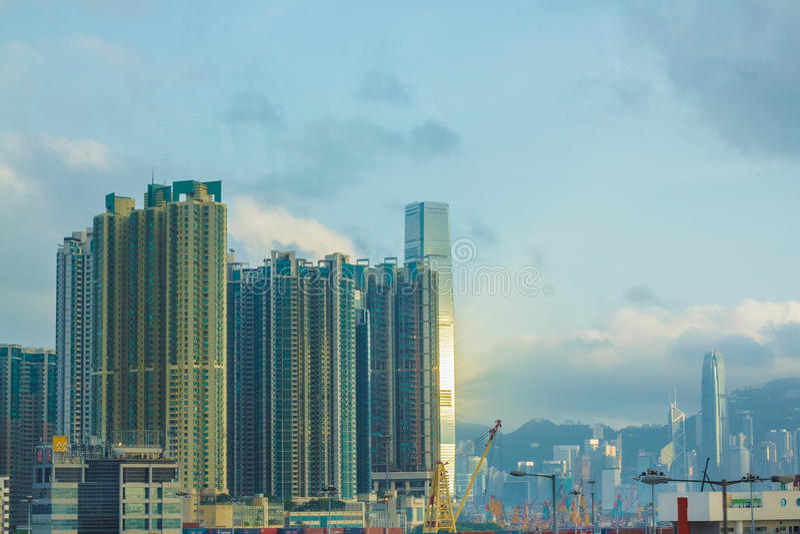 Hong Kong-stad stock afbeelding