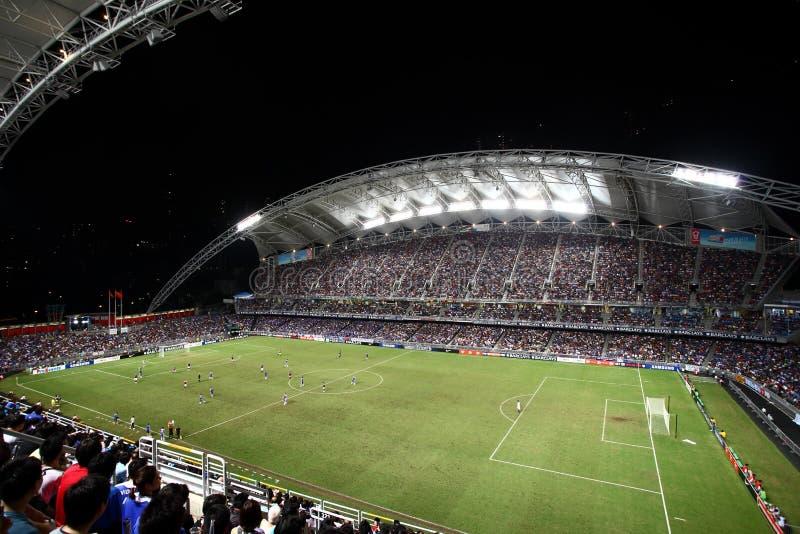 Hong Kong stadion royaltyfria foton