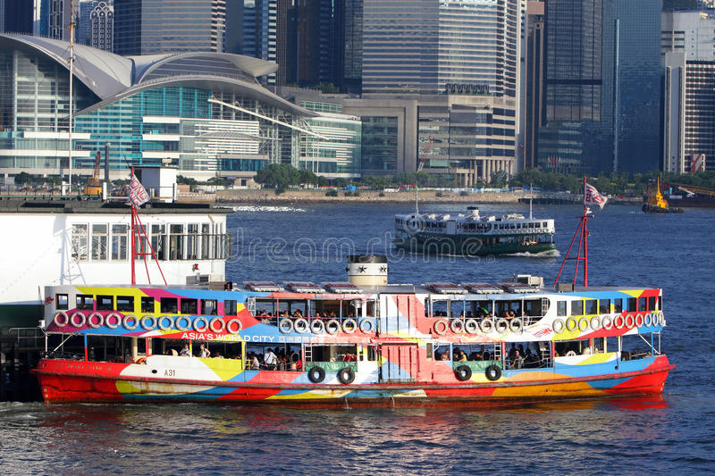 Download Hong Kong : Star Ferry Editorial Stock Image - Image: 15639149