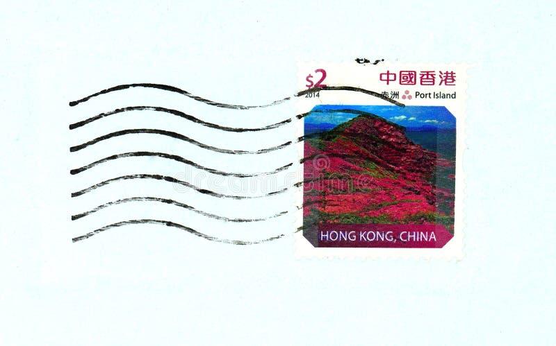 Hong Kong-Stempel lizenzfreie stockfotos