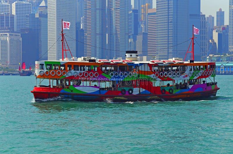 Hong Kong stjärnafärja fotografering för bildbyråer
