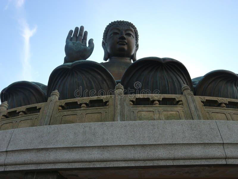 Hong Kong - stor Buddha arkivfoto
