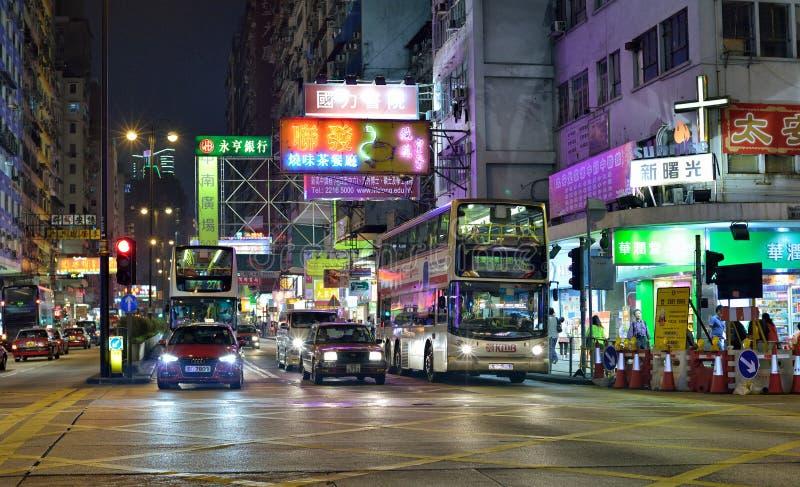 Hong Kong Street lizenzfreies stockfoto