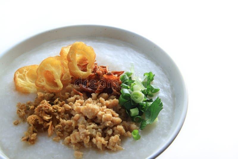 Hongkong Traditional Rice Porridge Stock Photo - Image of ...