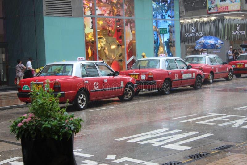 Hong Kong Taxi royalty free stock photography