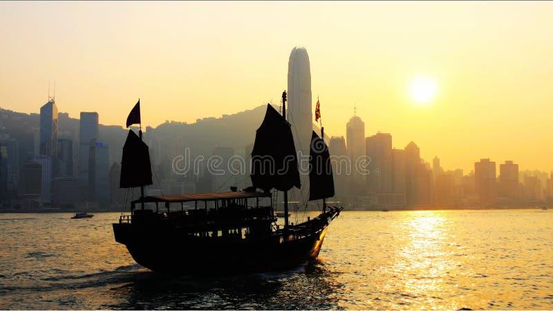 Hong Kong : tradition et modernisation photo stock