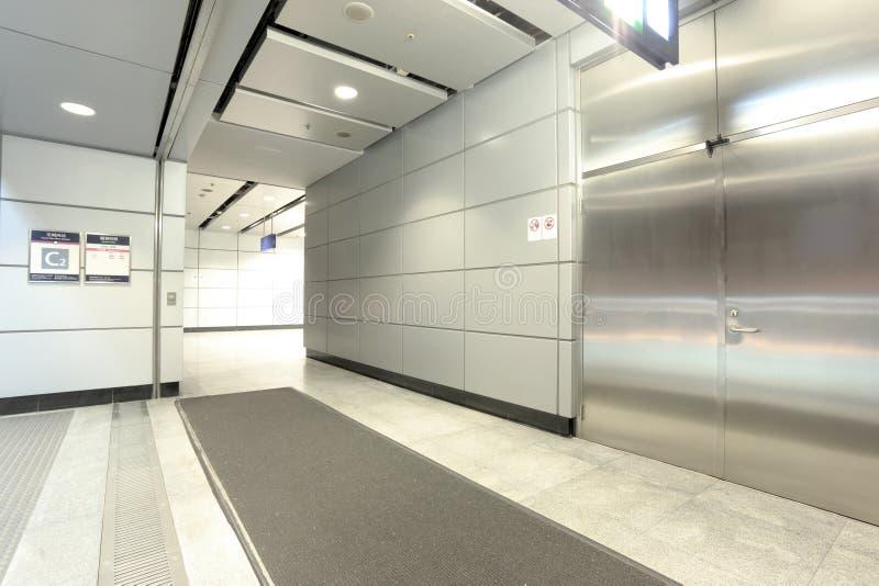 Hong Kong train station stock image