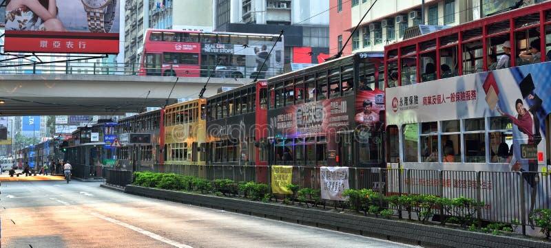 Hong Kong Tram image libre de droits