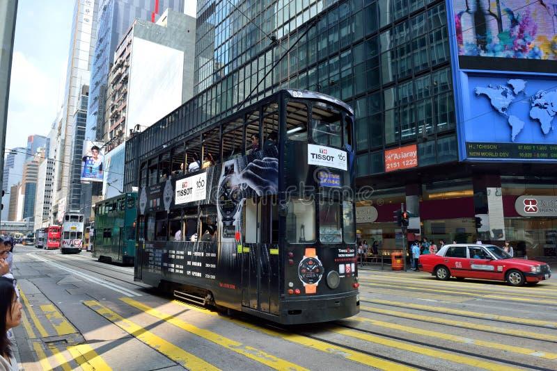 Hong Kong Tram photos libres de droits