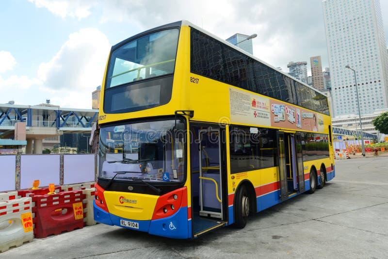 Hong Kong Urban Bus stockfotos