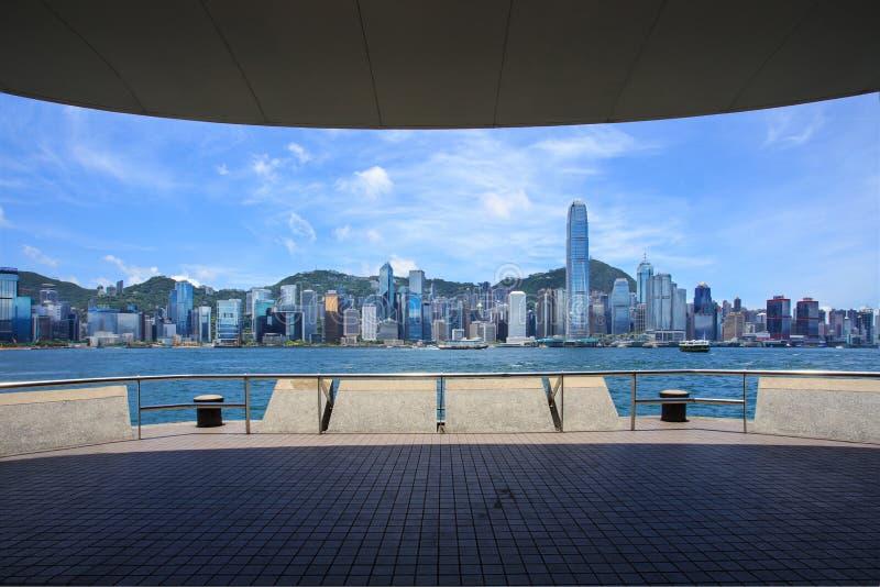 Hong Kong Victoria Habour immagini stock