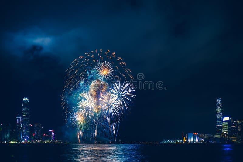 Hong Kong Victoria Harbor day and night. Hong Kong Victoria Harbor, photo token with Canon 5D mark III stock images