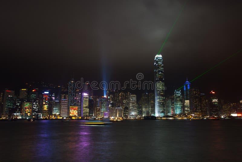 Hong Kong Victoria Harbour immagine stock libera da diritti