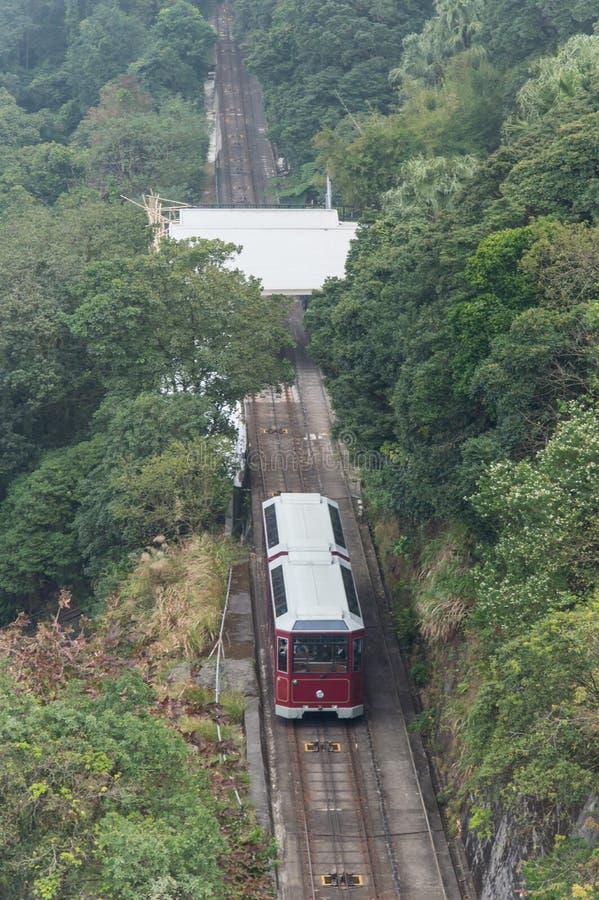 Hong Kong Victoria Peak stock foto's