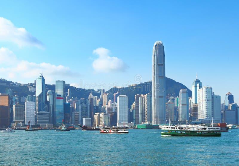 Hong Kong Victoria schronienie fotografia stock
