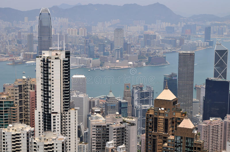 Download Hong Kong view editorial stock photo. Image of high, kong - 19368078
