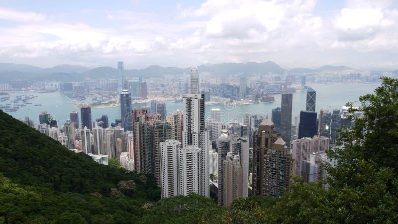 Download Hong Kong view editorial stock photo. Image of water - 20673518
