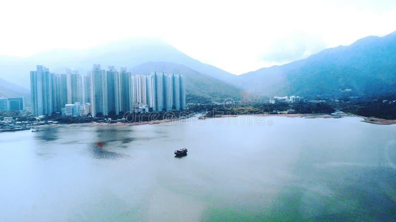 Hong Kong zatoka zdjęcie stock