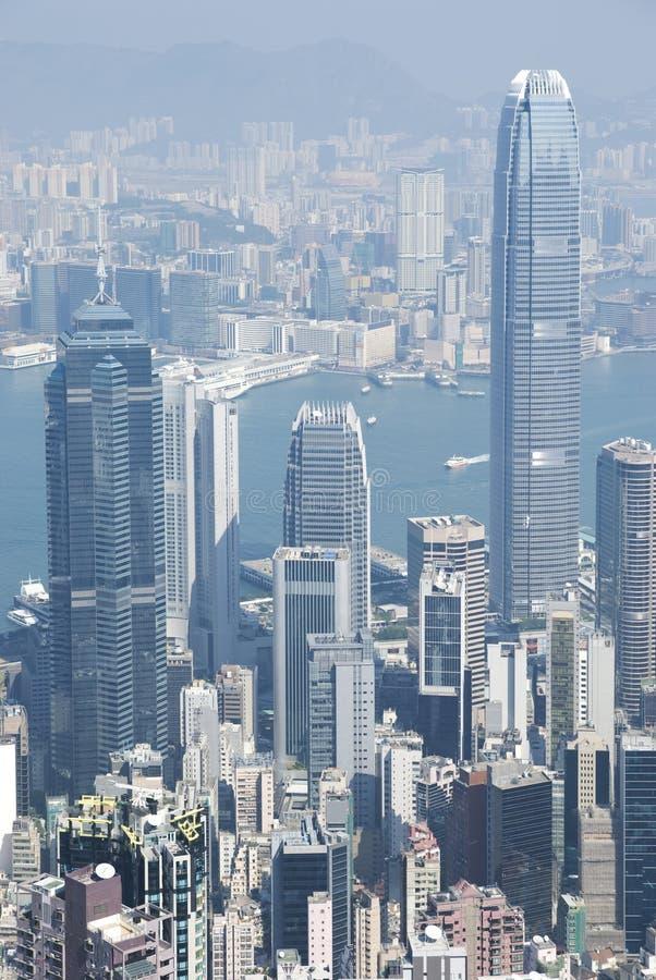 Hong- Kongansicht lizenzfreie stockfotografie