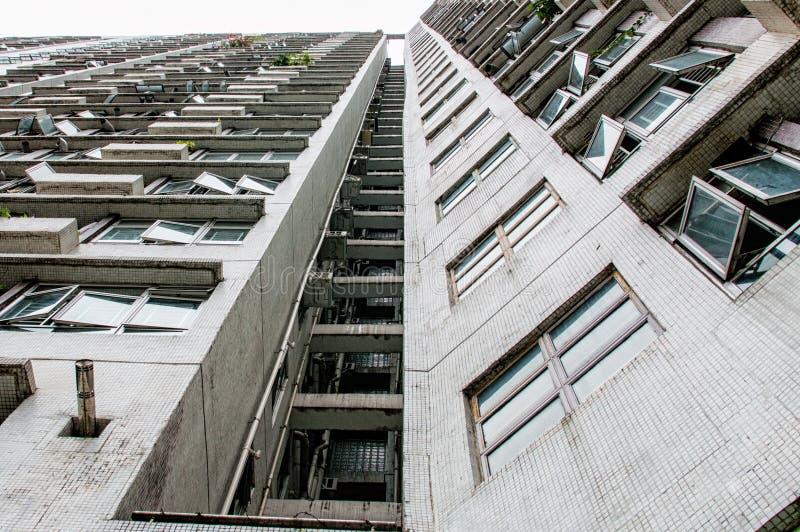 Hong- Kongarchitektur stockfotos