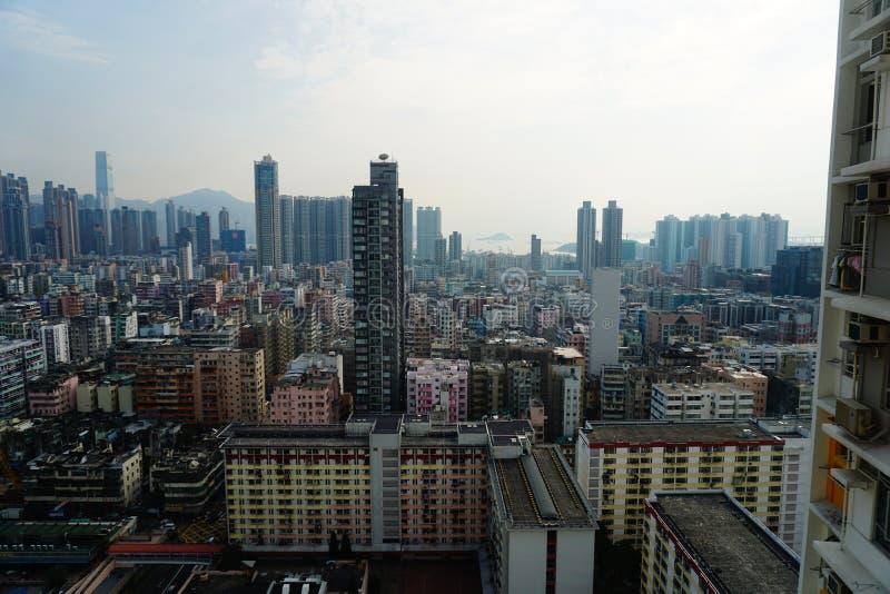 Hong- Konggehäuse lizenzfreies stockbild