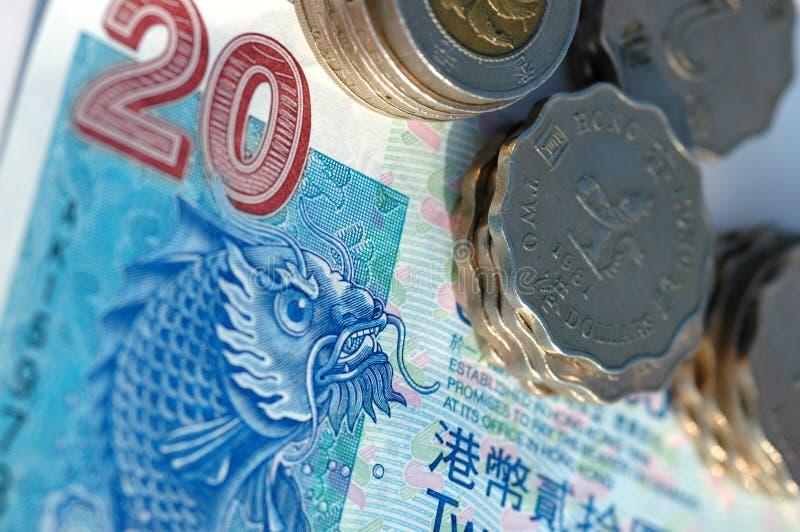 Hong- Konggeld lizenzfreie stockfotos