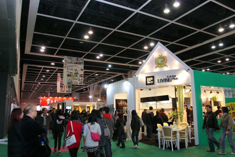 Hong- Konggroßschaukasten 2011 lizenzfreie stockbilder