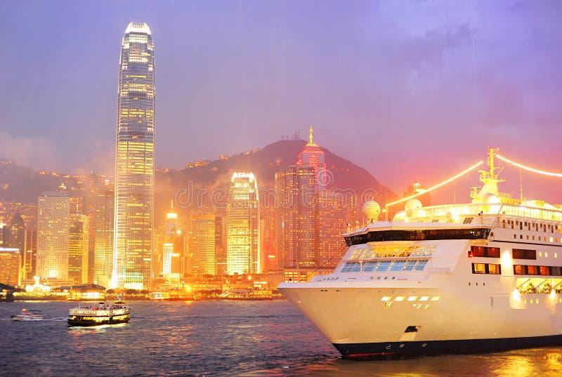 Hong- Kongschacht stockfotografie