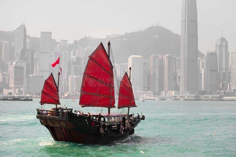 Hong- KongSkyline lizenzfreies stockbild